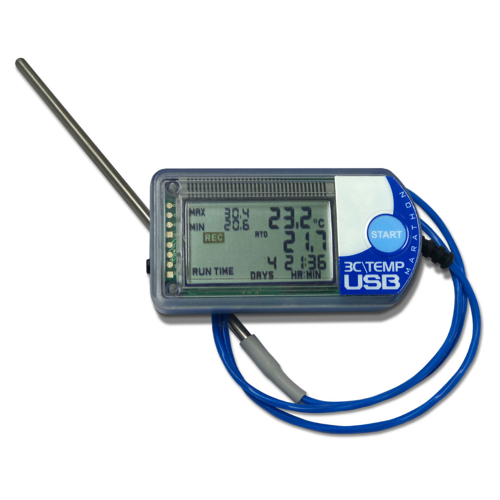 3CTEMP-USB -200C NFC Enabled Temperature Logger