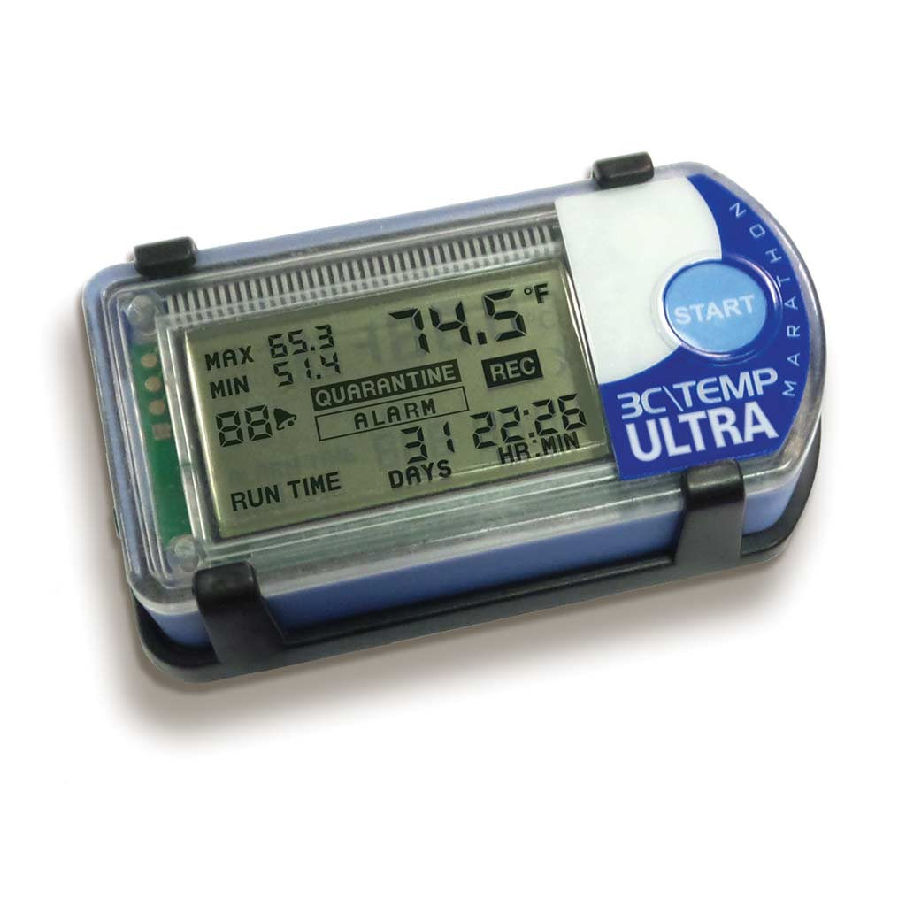 3C\TEMP-ULTRA Laboratory Grade Temperature Data Logger